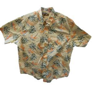 Natural Issue Vintage Men's Yellow Hawaiian Shirt